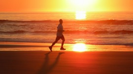 Jogging In The Morning Wallpaper For PC