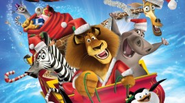 Merry Madagascar Wallpaper For IPhone