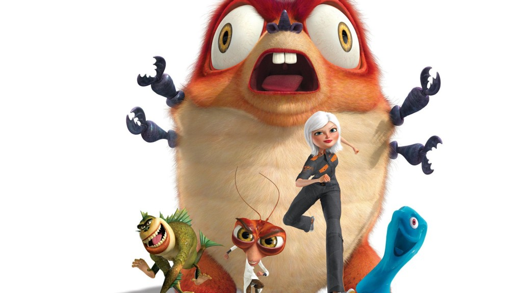 Monsters VS. Aliens wallpapers HD