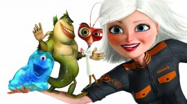 Monsters VS. Aliens Wallpaper Free