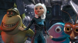 Monsters VS. Aliens Wallpaper Gallery