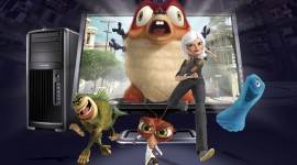 Monsters Vs Aliens Wallpapers 2
