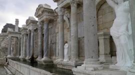 Nymphaeum Rome Photo