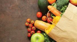 Organic Food Wallpaper