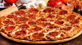 Pepperoni Pizza Desktop Wallpaper HD
