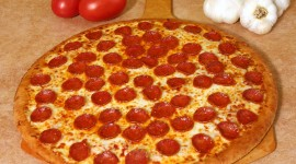 Pepperoni Pizza Photo Free