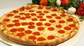 Pepperoni Pizza Wallpaper