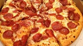 Pepperoni Pizza Wallpaper Full HD