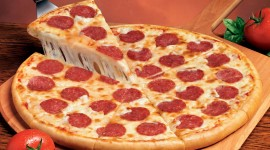 Pepperoni Pizza Wallpaper HQ