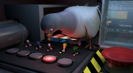 Pigeon Impossible Wallpaper Free