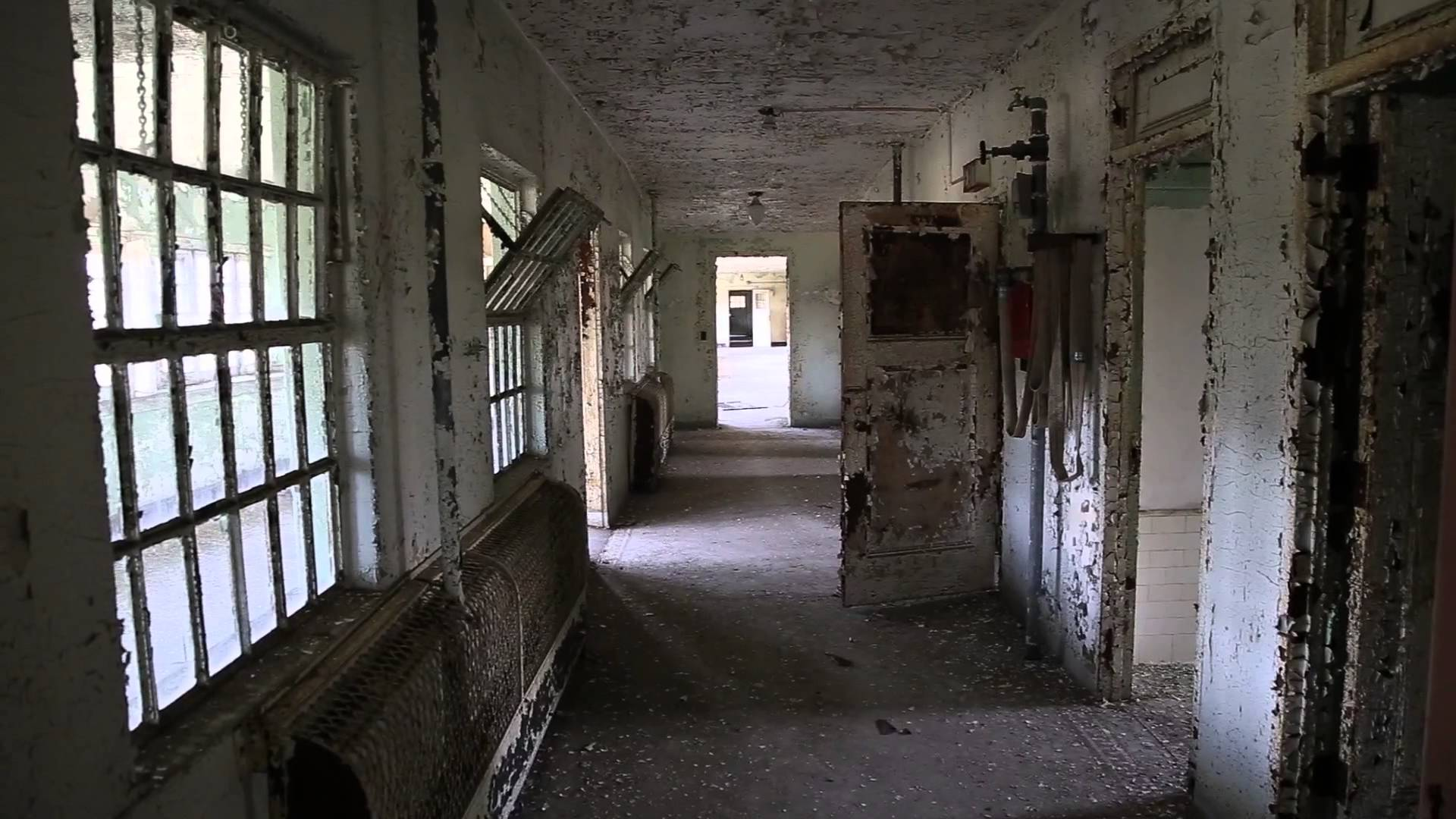 Mental hospital wallpaper