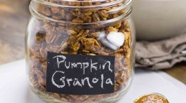 Pumpkin Granola Wallpaper For Android
