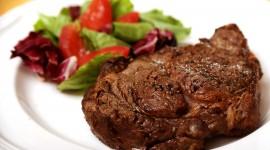 Rib Eye Steak Desktop Wallpaper HD