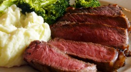 Rib Eye Steak Wallpaper For PC