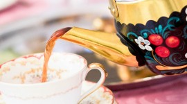 Russian Tea Party Wallpaper For IPhone