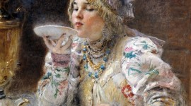 Russian Tea Party Wallpaper For IPhone#2