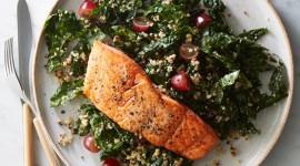 Salad With Salmon Photo