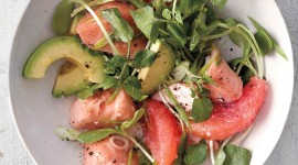 Salad With Salmon Wallpaper For IPhone