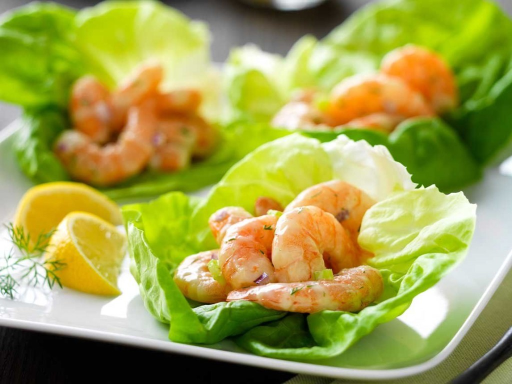 Salad With Shrimp wallpapers HD
