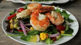 Salad With Shrimp Photo