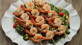 Salad With Shrimp Photo Download