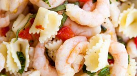 Salad With Shrimp Wallpaper For Mobile#1