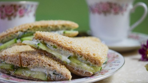Sandwiches With Cucumbers wallpapers high quality