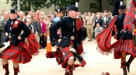 Scottish Costumes Desktop Wallpaper