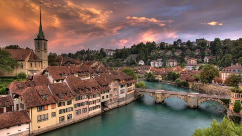 Switzerland Attractions wallpapers high quality