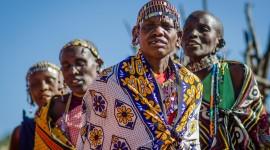 The Maasai People Desktop Wallpaper