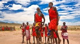 The Maasai People Desktop Wallpaper HD
