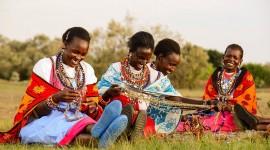 The Maasai People Photo