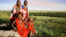 The Maasai People Photo Free