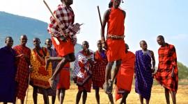 The Maasai People Wallpaper