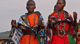 The Maasai People Wallpaper For PC