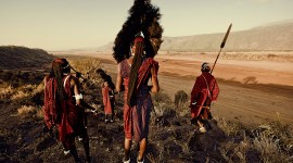 The Maasai People Wallpaper HQ