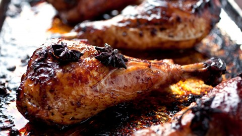 Turkey Thighs In Sauces wallpapers high quality