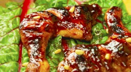 Turkey Thighs In Sauces Wallpaper For PC