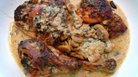 Turkey Thighs In Sauces Wallpaper Free