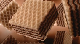 Wafers In Chocolate Wallpaper