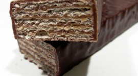 Wafers In Chocolate Wallpaper Download