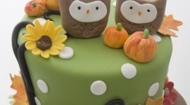 Autumn Cakes Best Wallpaper