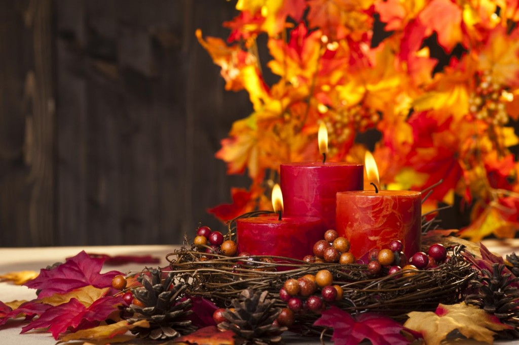Autumn Candles wallpapers HD