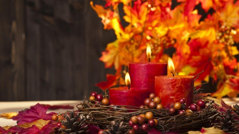 Autumn Candles wallpapers high quality