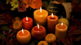 Autumn Candles Wallpaper Gallery