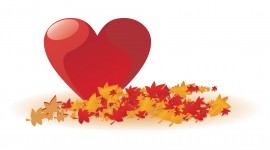 Autumn Heart Image Download