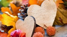 Autumn Heart Wallpaper