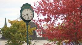 Autumn In The Village Desktop Wallpaper
