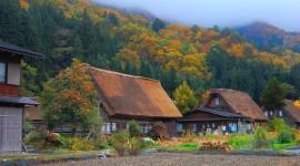 Autumn In The Village Wallpaper Download