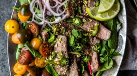 Beef Salad Wallpaper For IPhone